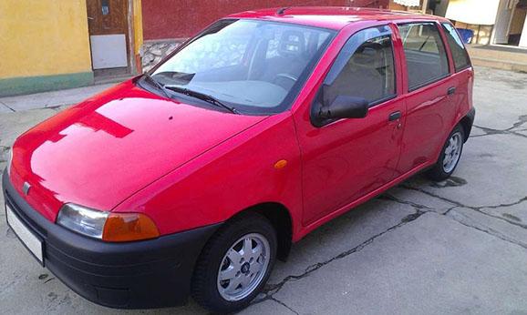 Autókölcsönzés Fiat Punto