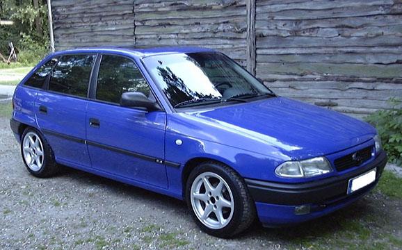 Autókölcsönzés Opel Astra