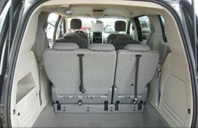 Kisbusz kölcsönzés Dodge Grand Caravan Belső Tér