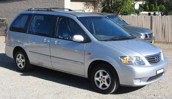 Kisbusz kölcsönzés Mazda MPV