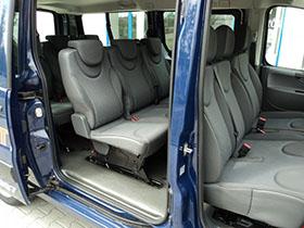 Kisbusz kölcsönzés Peugeot Expert HDI Tepee Long Utastér