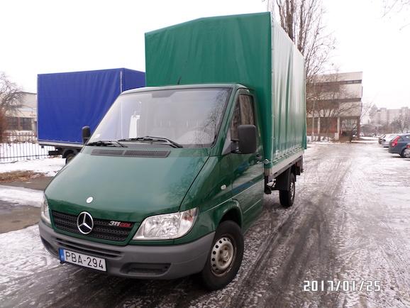 kisteherautó bérlés Mercedes Sprinter