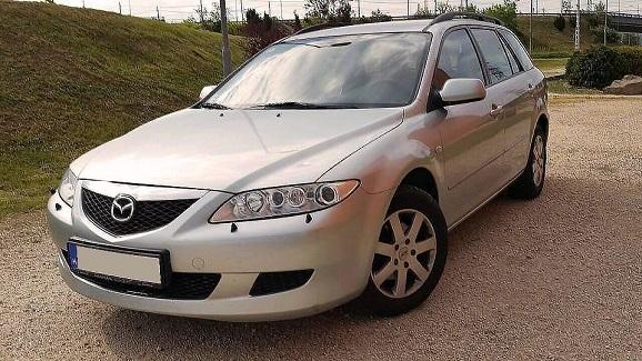 Mazda 6 személyautó bérlés