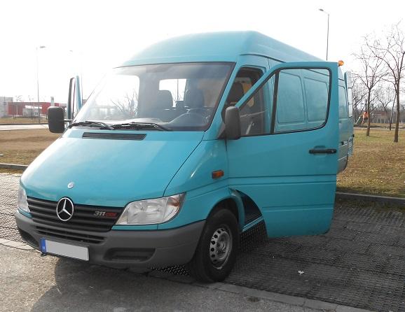 teherautó bérlés Mercedes-Benz Sprinter